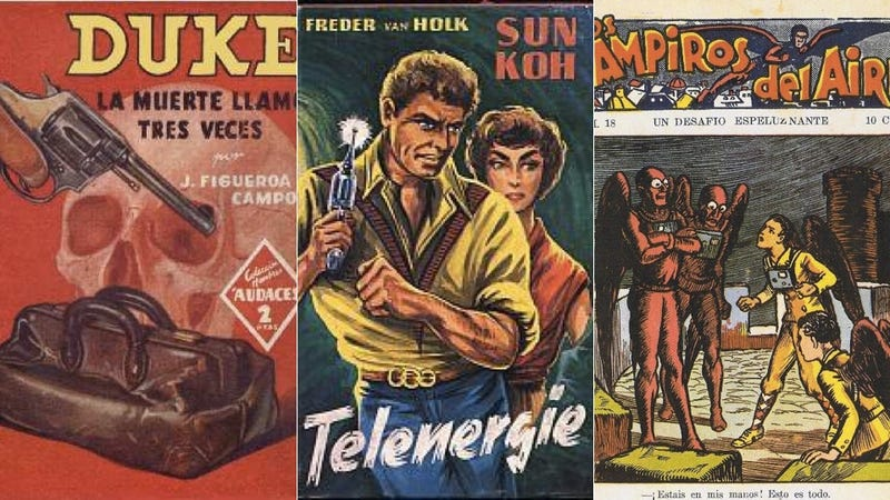 Planetary romance, zombie mentors, and the rise of fascism: European pulp fiction 1914-1945