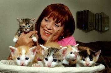 For Good Health, Be A Cat Lady