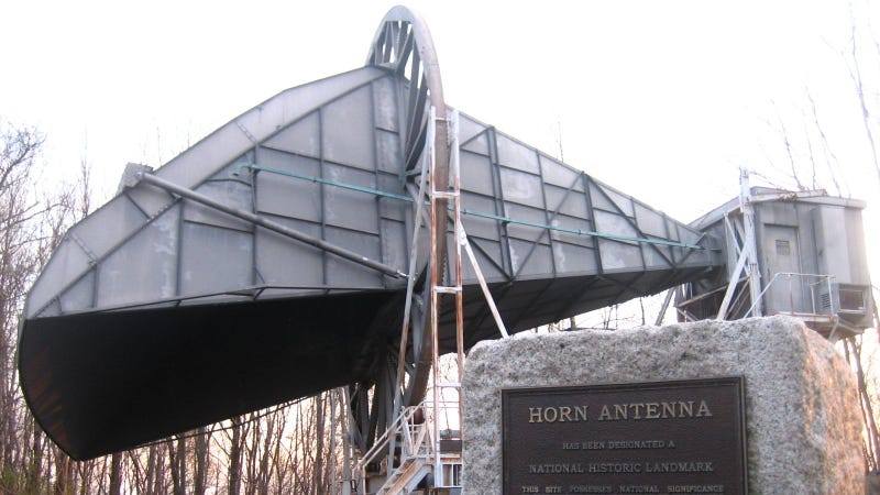 The Holmdel Horn: The Most Important Radio Antenna Ever
