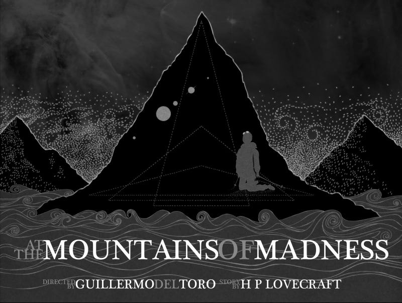 Did Prometheus kill Guillermo Del Toro's Mountains of Madness movie?