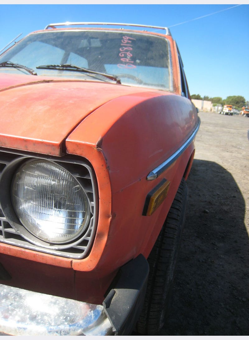 Fiat 128 3P Prepares For The Crusher