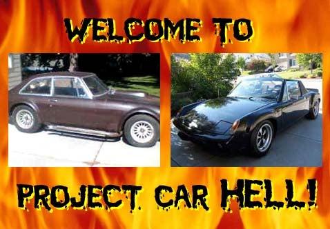 Project Car Hell: V8 MGB or V8 914?