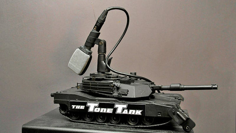 RC Mic Tanks Rearrange Studio Setups With Tactical Precision
