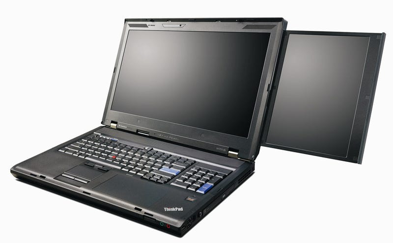 Lenovo ThinkPad W701ds Pairs Beastly Specs With an Integrated Secondary Screen