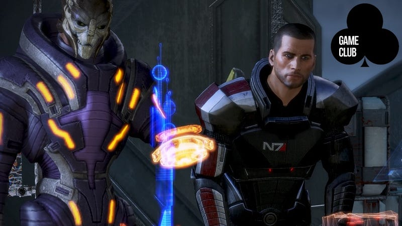 Talk About Making the Tough Choices in Mass Effect 3 at Kotaku Game Club!