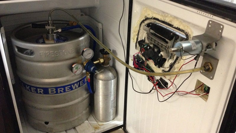 How A Tesla Model S Engineer Pours A Beer