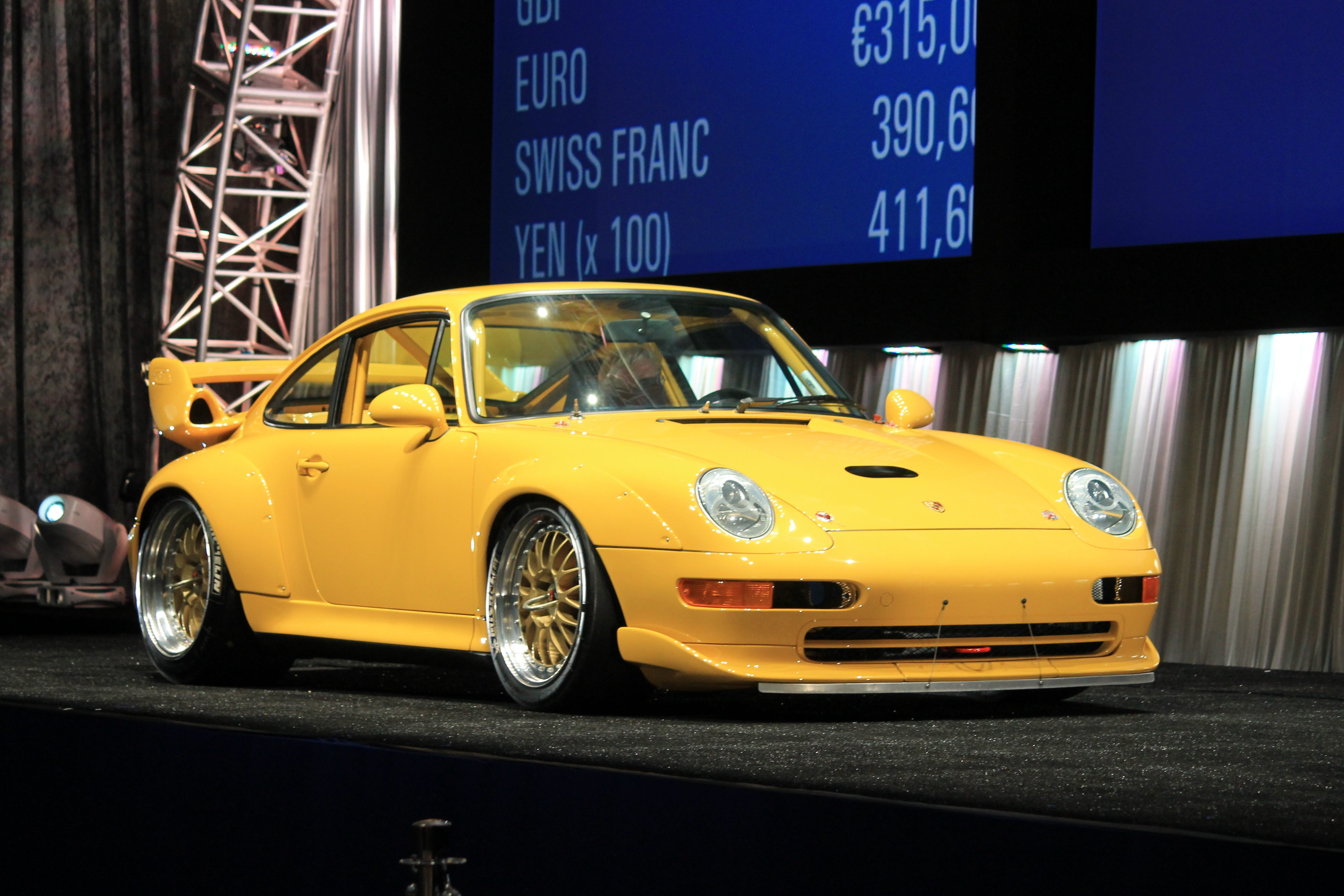 1to1 ish yellow porsche 993 gt2 edition. Black Bedroom Furniture Sets. Home Design Ideas