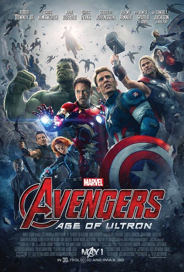 The New Avengers: Age Of Ultron Poster Confirms More Marvel Heroes