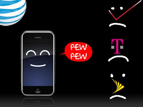 One in Three iPhone 3G Buyers Bailed on Their Carrier (Half Were From Verizon)