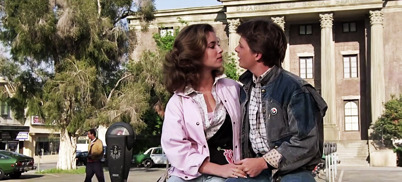 Back to the Future dialog remixed into a love song