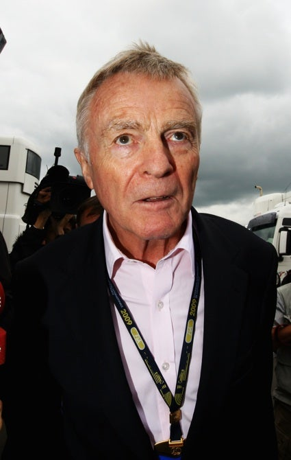 Max Mosley To Step Aside As FIA President