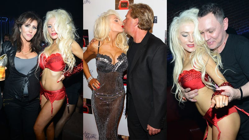 Courtney Stodden Celebrates Her Video Premiere With LED Panties