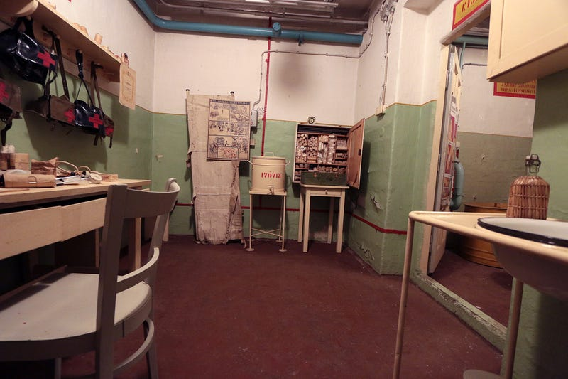 Inside a WWII Air Raid Shelter Cube That Protected Factory Workers