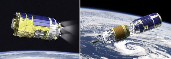Unmanned Japanese Cargo Spacecraft Could Be NASA's Next Space Shuttle