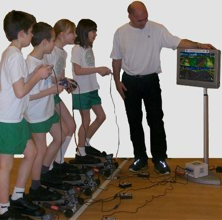 Exercise Video Games Replace Exercise