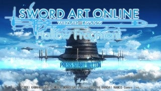 Sword Art Online: Hollow Fragment Will Include Infinity Moment HD
