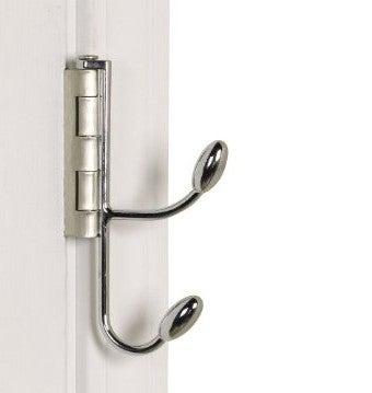 Hinge Hooks Sneak Semi-Permanent Storage Behind Your Doors