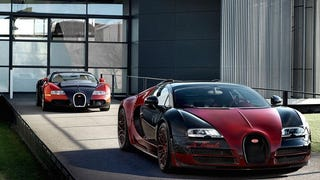 The Final Bugatti Veyron Is The Inverse Of The First Bugatti Veyron