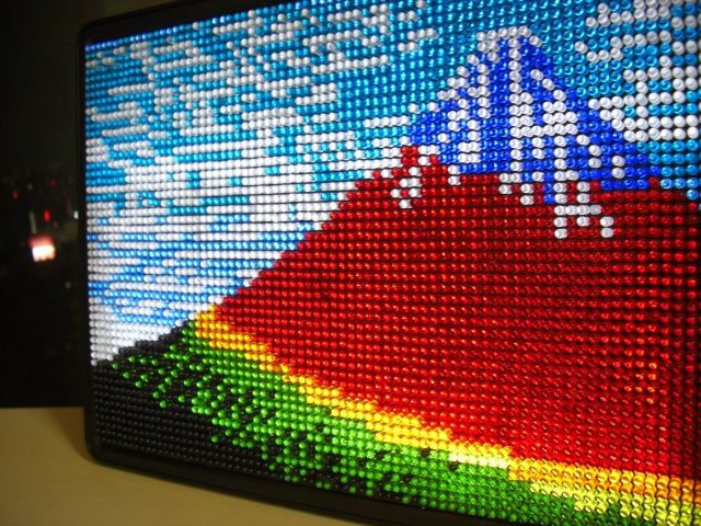 Bandai's Luminodot: Lite-Brite HD For Big Kids