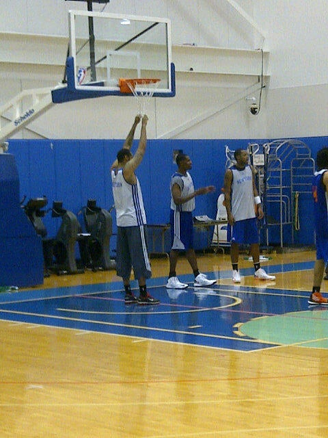 "Here Is Your Rasheed Wallace Being Hilarious At Knicks Camp Update: ""Get In, Girl!"""