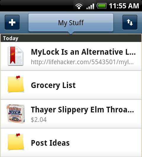 Springpad's Web-Based Notebook Goes Mobile, Is Viable Evernote Alternative