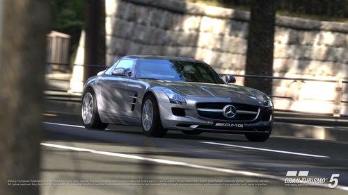 Mercedes Benz SLS AMG In Gran Turismo 5