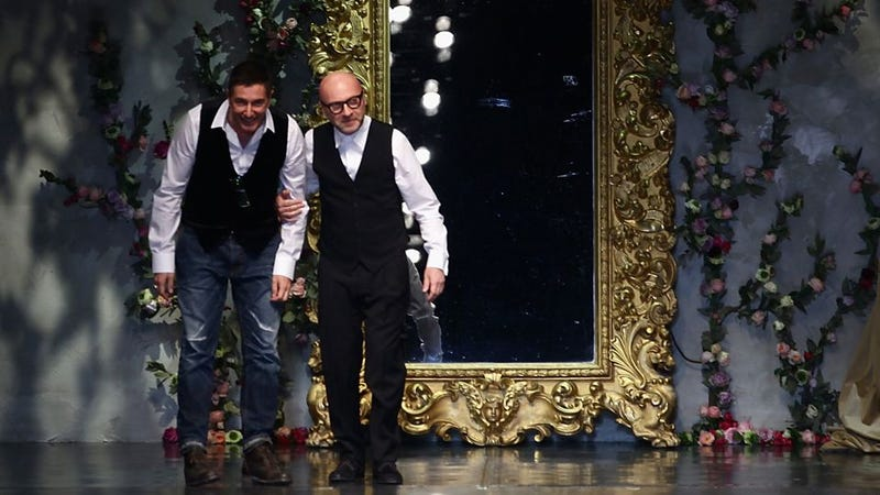 "Dolce & Gabbana Say Working Together As Exes Is ""Exactly The Same, But No Sex!"""