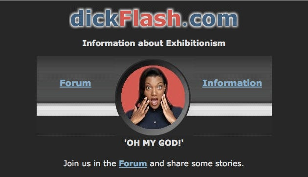 The Disturbing World Of Dickflash.com