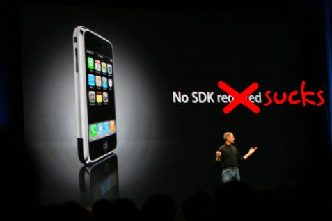 No iPhone SDK Means No Killer iPhone Apps