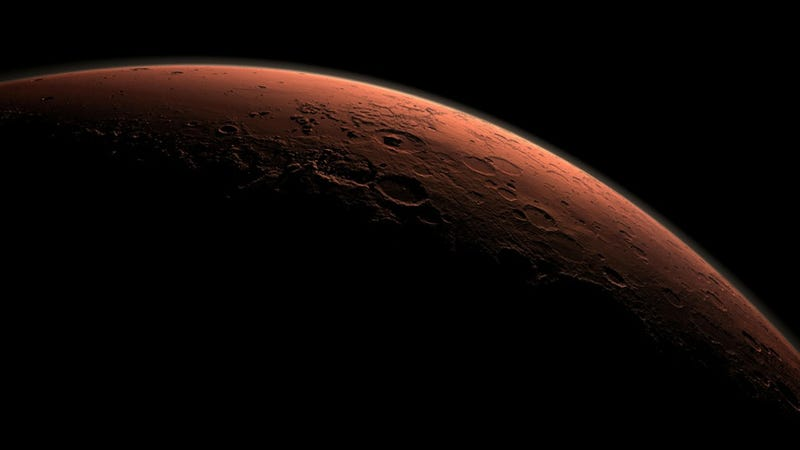 Mars' Once Thick Atmosphere Now Kaput