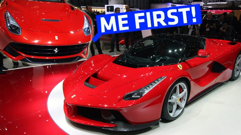 Rich Guy Buys $750K Ferrari Just For The Privilege To Buy A LaFerrari