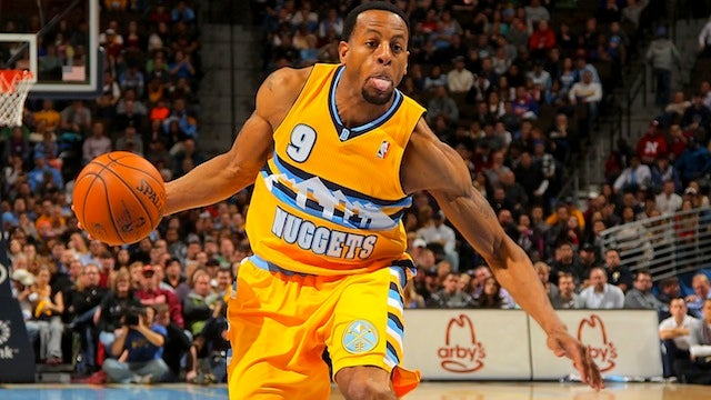 Andre Iguodala Doesn't Like Clubs Because They Are Too Damn Loud