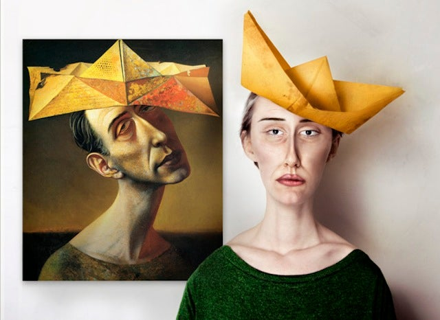 What Abstract Art Would Look Like in Real Life