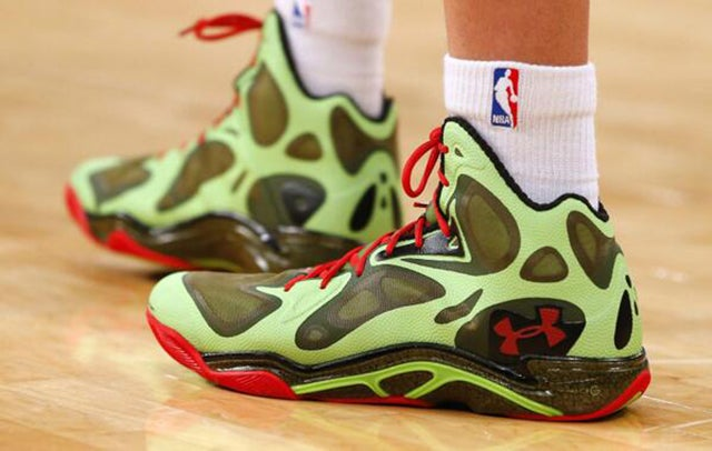 The Holiday-Themed Sneakers NBA Players Wore On Christmas Day