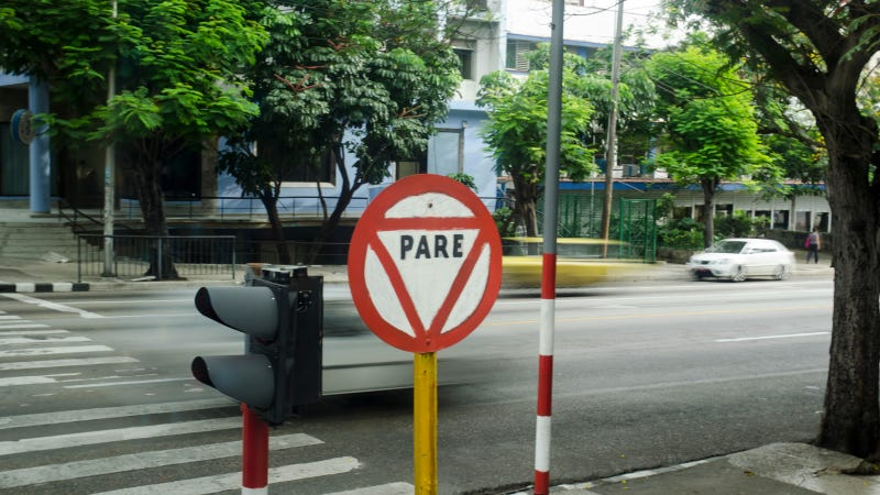 In Cuba, Jaywalking Pedestrians And Speeding Drivers Struggle To Co-Exist