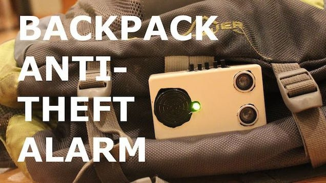 Build an Anti-Theft Alarm for a Backpack