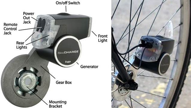 Bikes Electrical Dynamo USB Charging Bike Dynamo