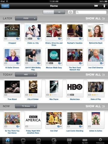 Dish Network Remote Access App Lets iPad Users Schedule Recordings and Watch Live TV