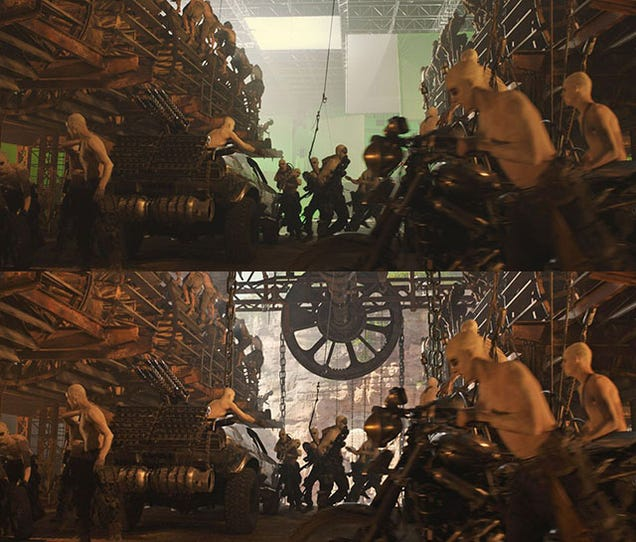 These Before and After Comparisons Make Me Love Fury Road Even More