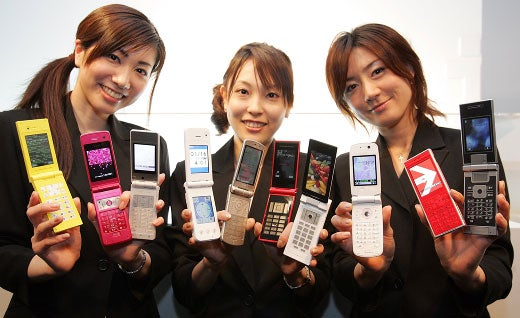 Docomo Cellphones Now Have Touchscreen, Scented Parts