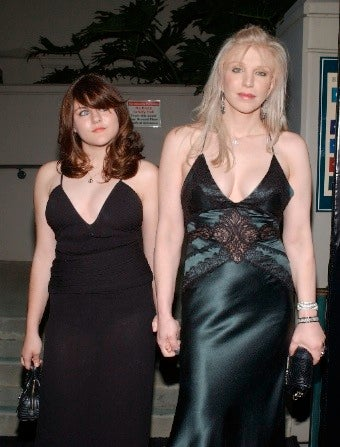Courtney Love Battles Daughter At Chateau Marmont