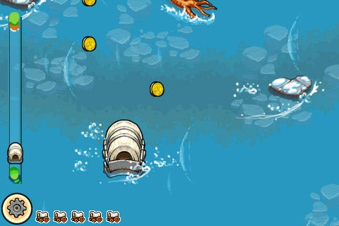 Oregon trail iphone game hands on for Oregon fish and game
