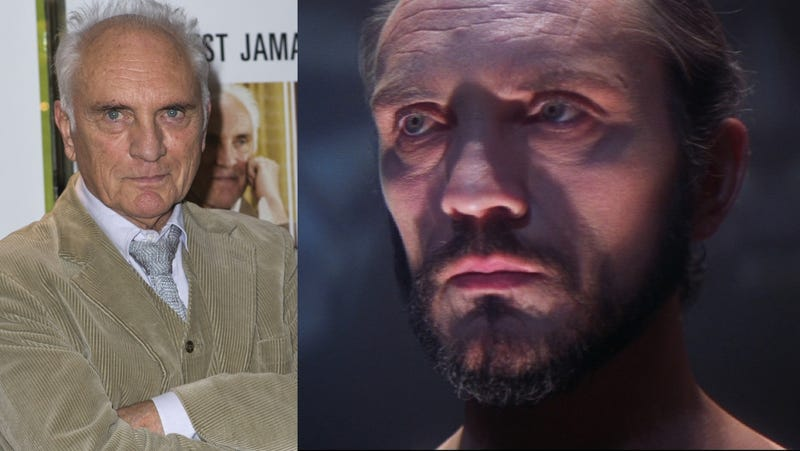 Zod Fans Criticizing New Superman in Restroom Run Into Terence Stamp