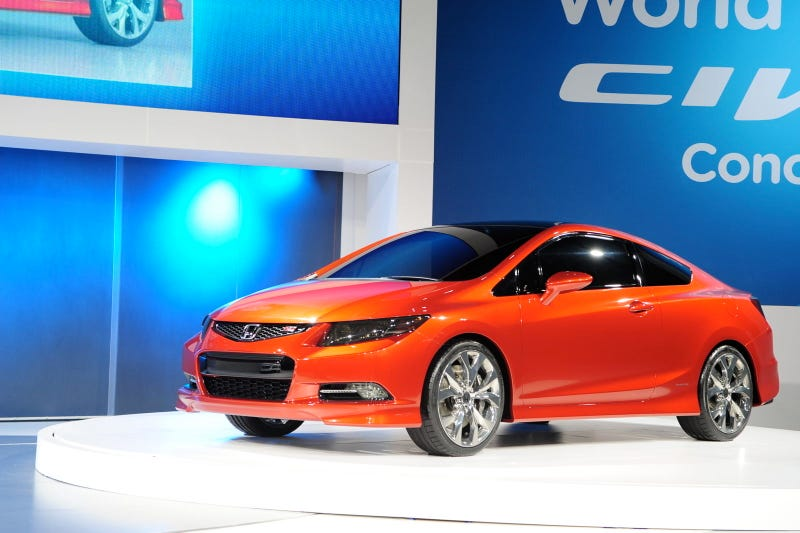Honda Civic Coupe Concept Tempts The Youngish