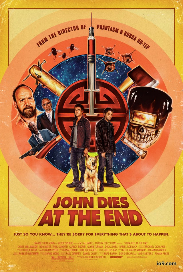 An exclusive first look at the new poster for John Dies At The End