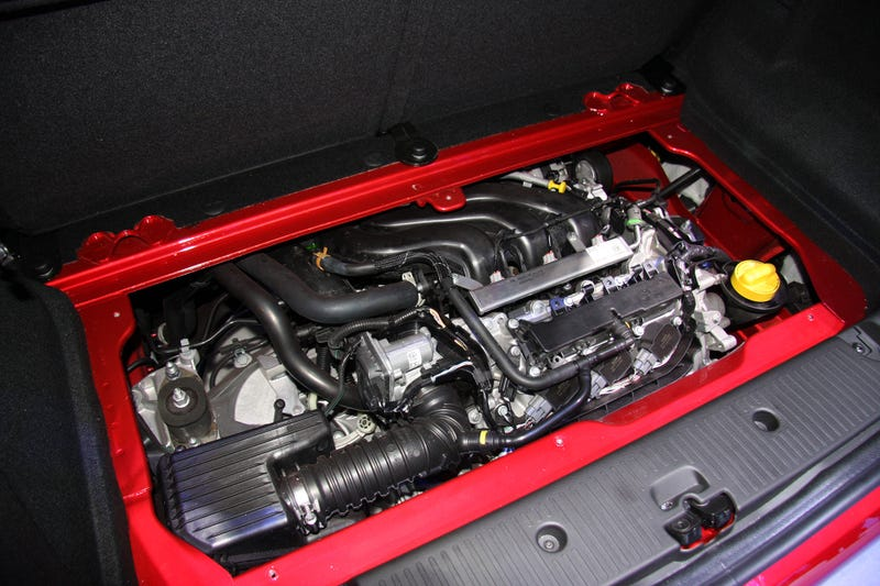 Yes, That's An Engine In The Hatch Of This Awesome French City Car