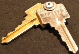 DIY Compact Keychain