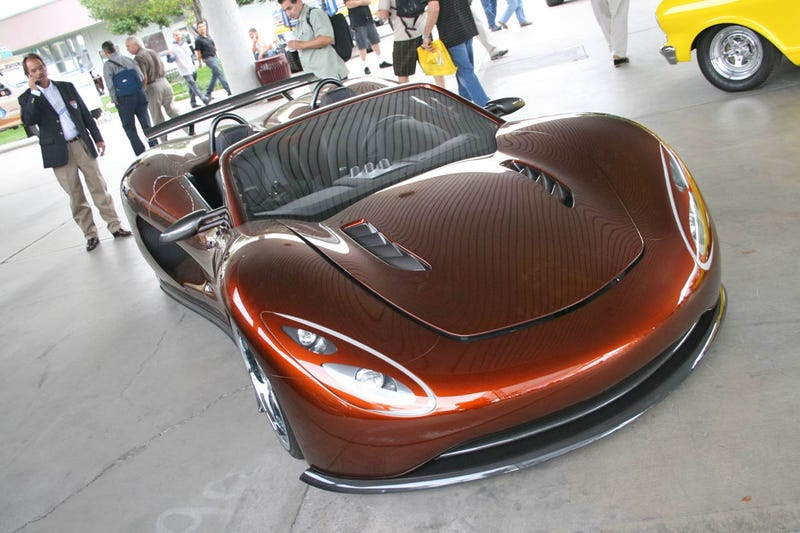 Ronn Motors Scorpion Hydrogen Internal Combustion Supercar Debuts At SEMA