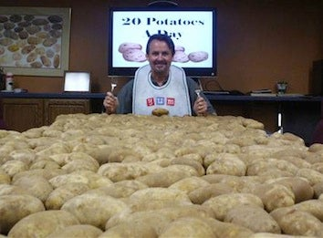 Bizarre Man Ends Bizarre 60-Day Potato Diet