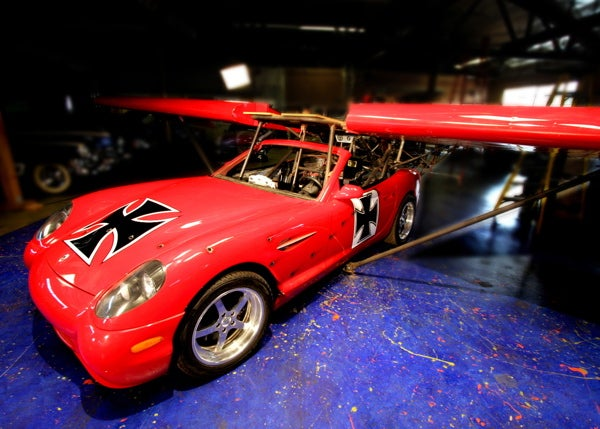 Barrett-Jackson: Panoz Esperante Flying Car Takes Off for Only $45,000
